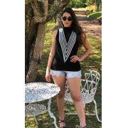 Promoção 6 Blusinha modal Tricot Frete Grátis 587