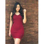 Vestido moda blogueira tendencia promoção de verão atacado k563