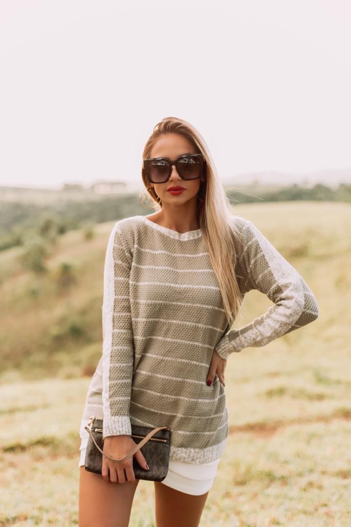 blusa de inverno em tricot loja online do tricô monte sião