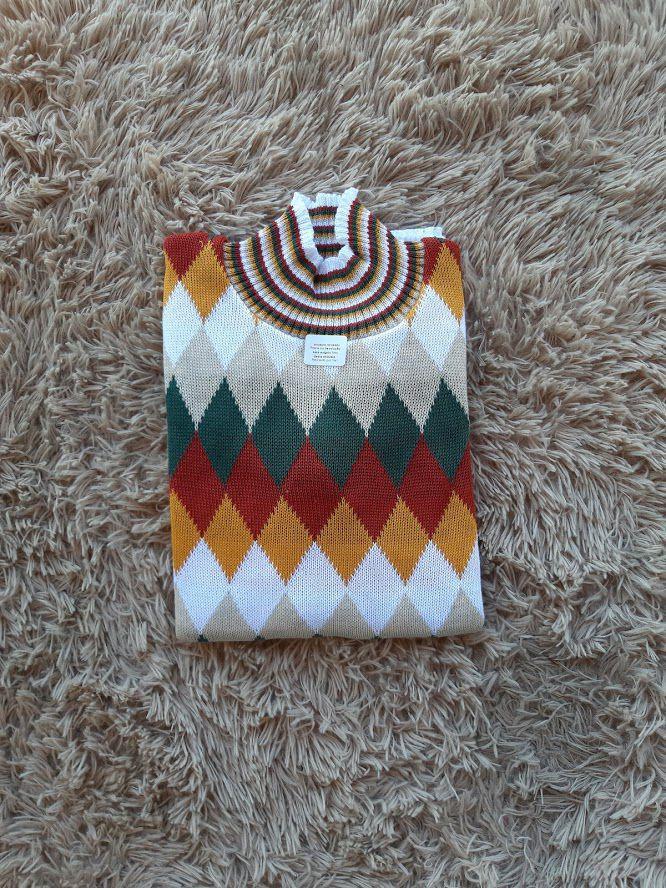 Blusa de tricot frio moda blogueira atacado direto da fabrica K206
