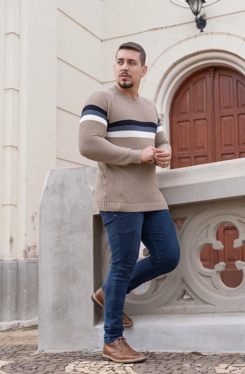 blusa de tricot masculina atacado loja do tricô monte sião