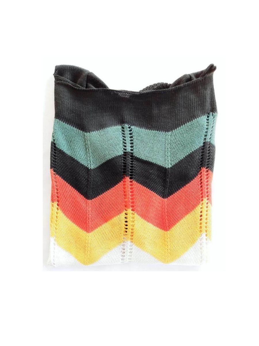 blusa listrada colorida Atacado Tricot Verão Barato Revenda k463