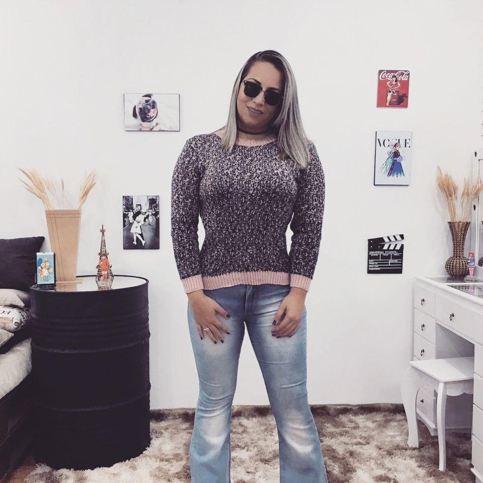 Blusa Tricô Inverno Atacado Moda Feminina Online
