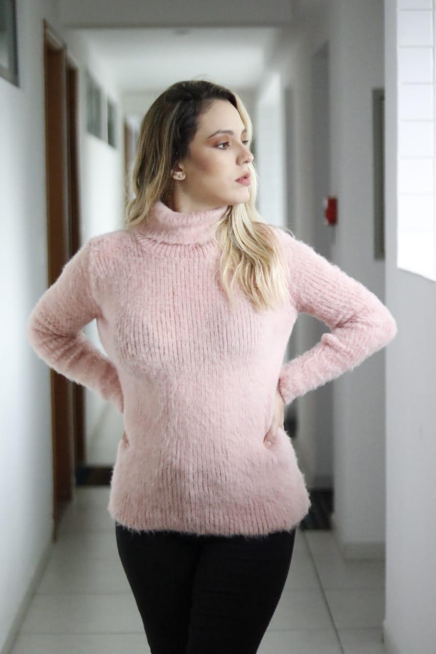 cacharrel de pelinhos em tricot lançamentos loja do trico
