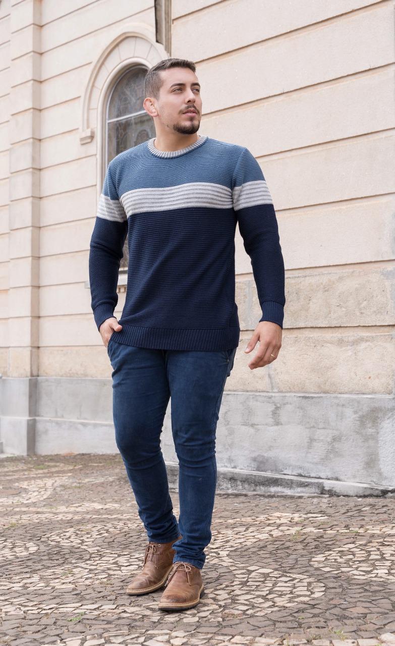 camisa masculina blusa de tricot 3 cores atacado