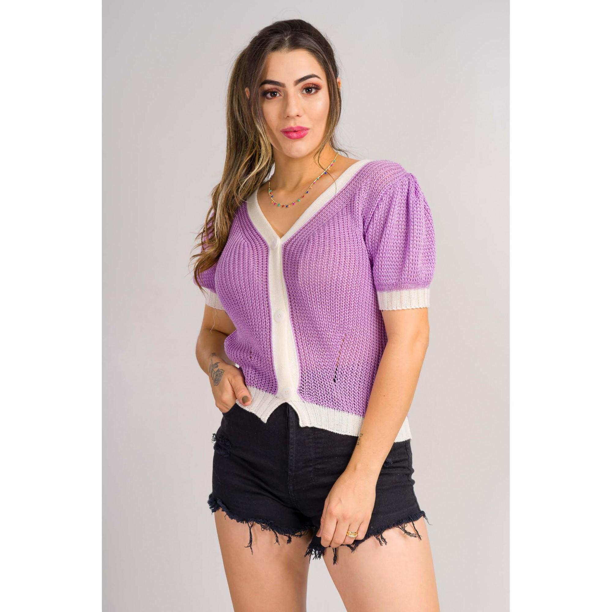 casaqueto tricot de verão tendencia moda blogueira