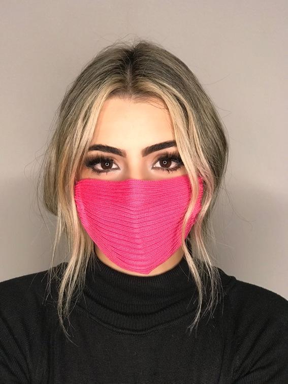 Kit 12 mascara tricot canelada viscose atacado direto da fabrica