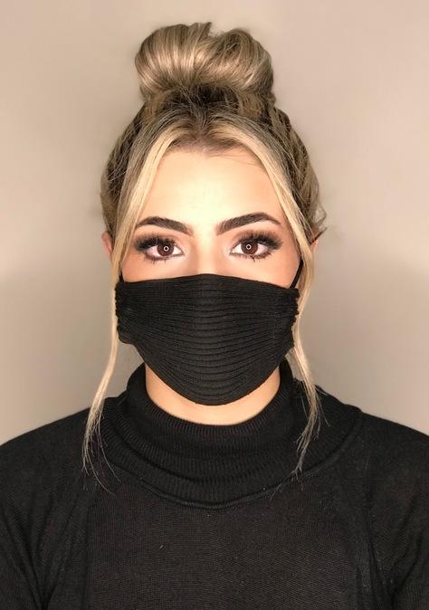 Kit 200 mascara tricot canelada viscose atacado direto da fabrica