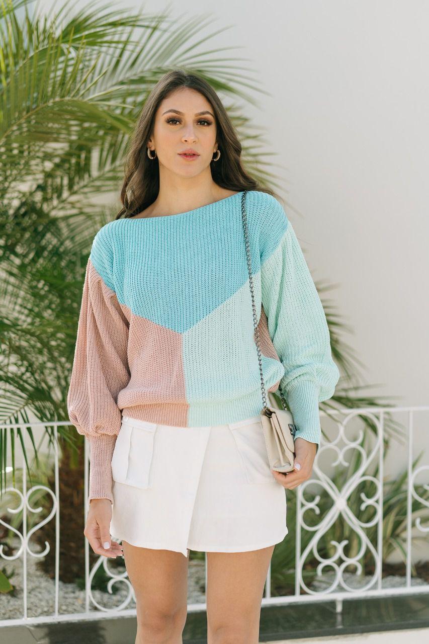 kit 20 Blusa de tricot atacado revenda na promoção