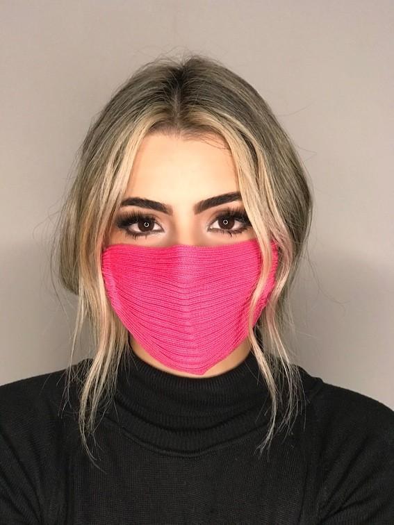 Kit 20 mascara tricot canelada viscose atacado direto da fabrica