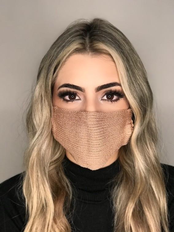 Kit 30 mascara tricot canelada viscose atacado direto da fabrica