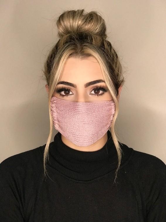 Kit 45 mascara tricot canelada viscose atacado direto da fabrica