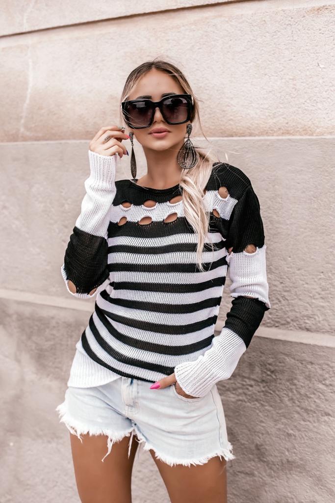 blusa de inverno tendencia loja do trico lançamento