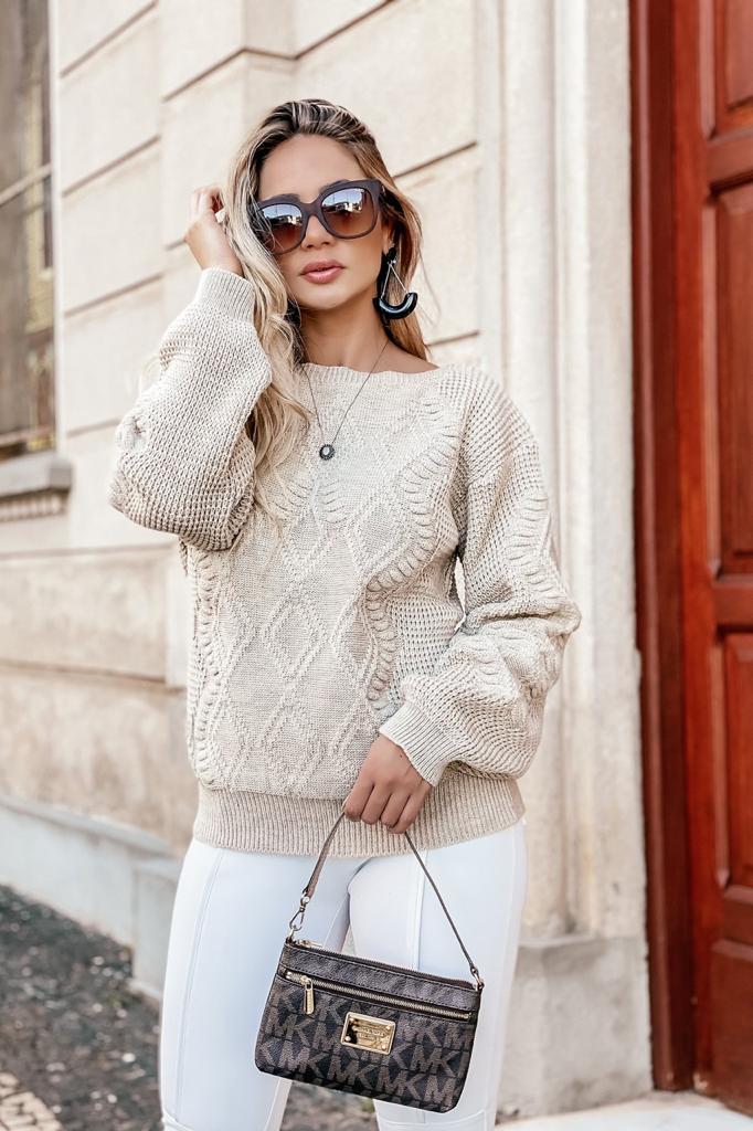 blusa de tricot direto da fabrica monte sião loja do tricô