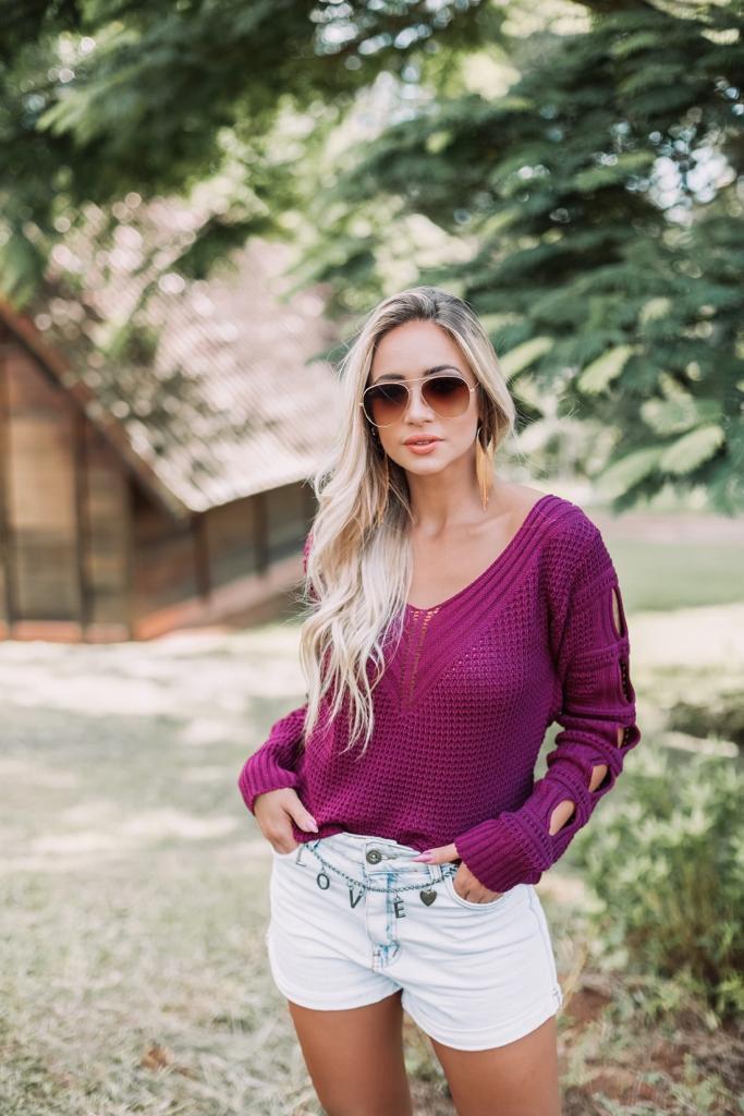blusa tricot moda blogueira tendencia monte sião inverno