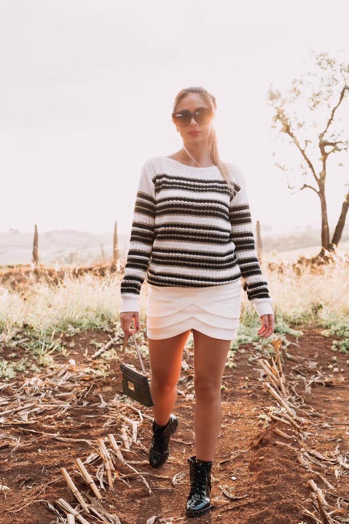 promoção blusa de tricot inverno loja do triô monte sião mg