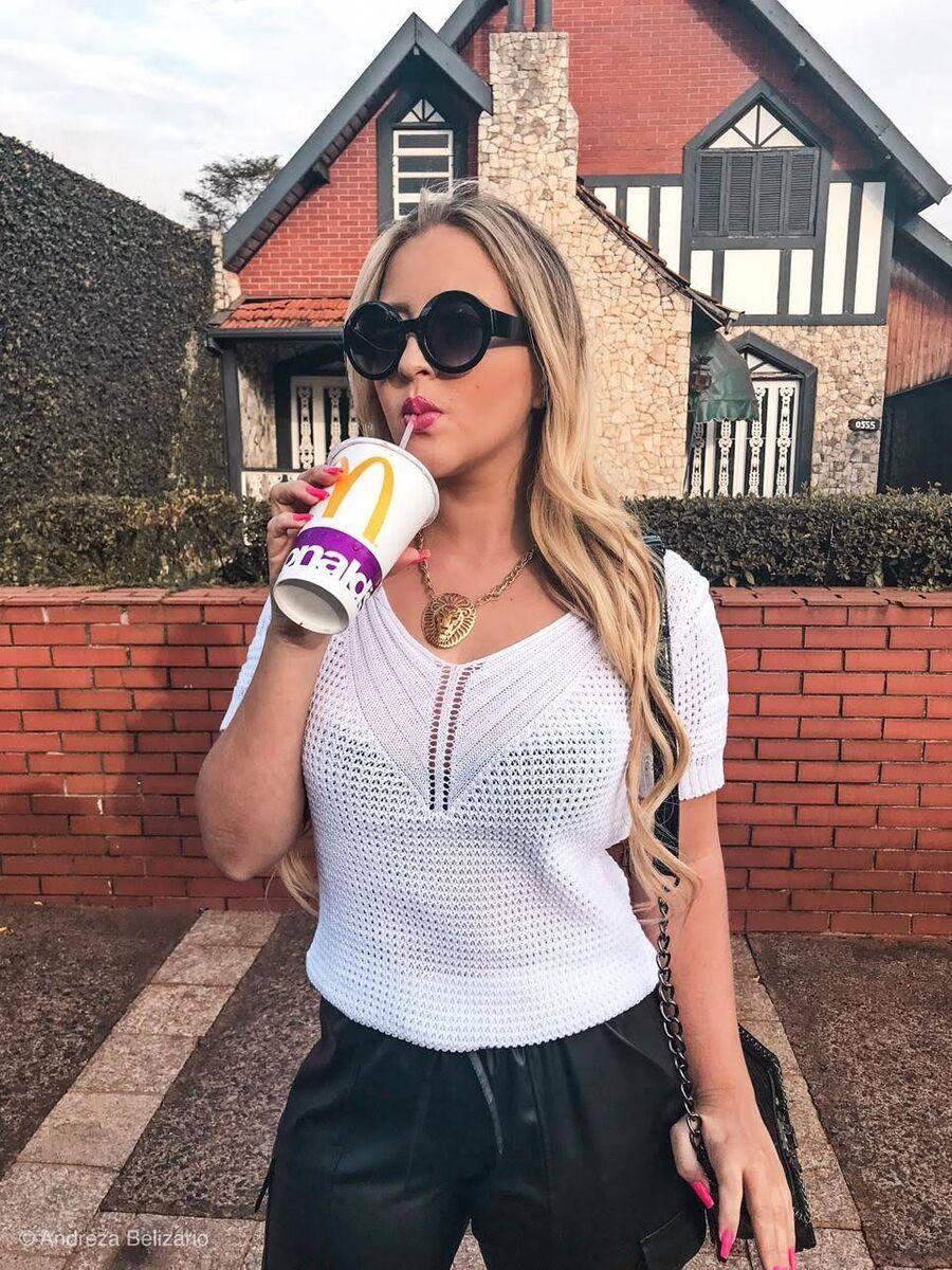promoção kit 3  cropped top blusinha tricot verão moda feminina