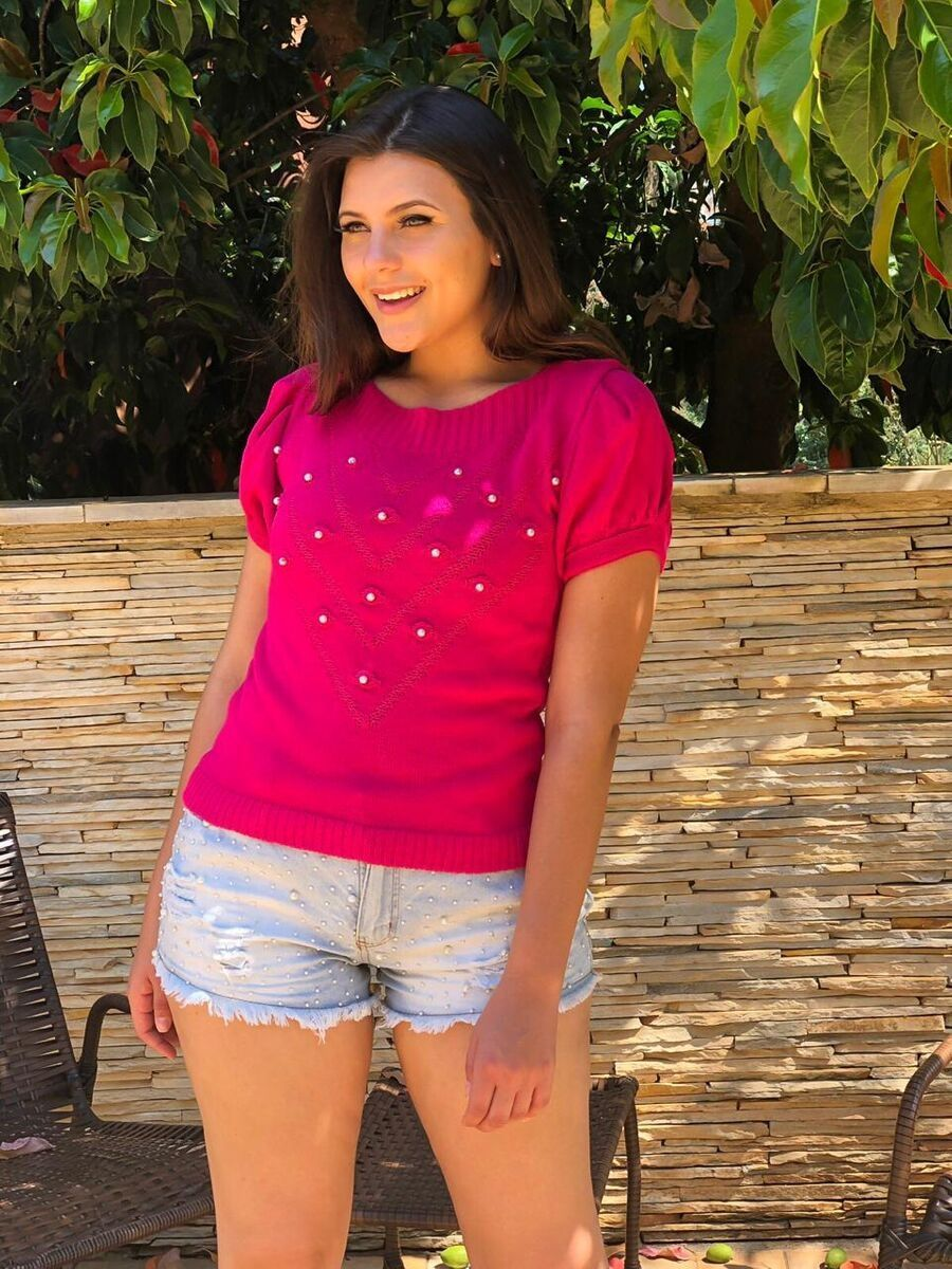 promoção kit 7  cropped top blusinha tricot verão moda feminina k551