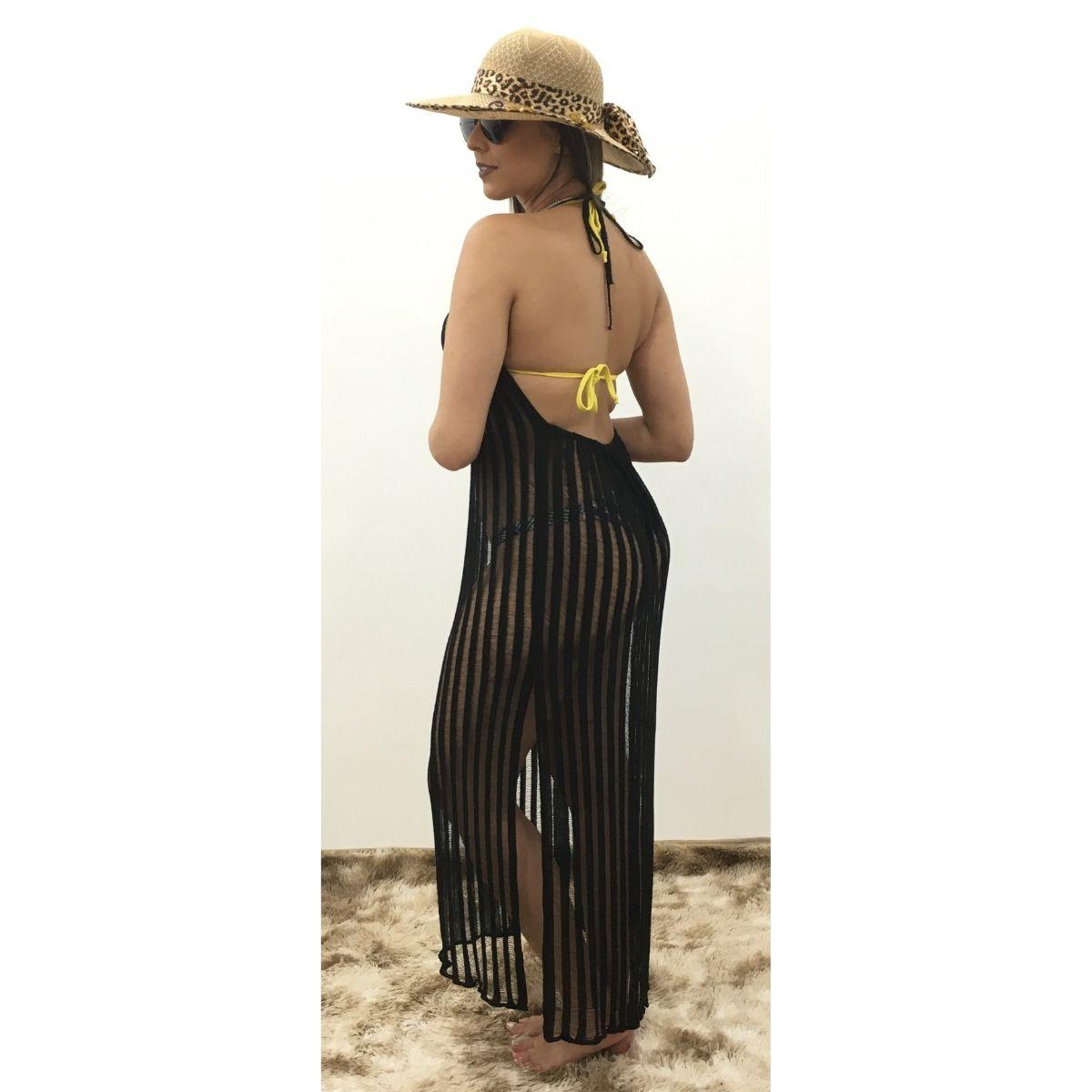 Saida de praia  Moda Feminina Tricot   K405