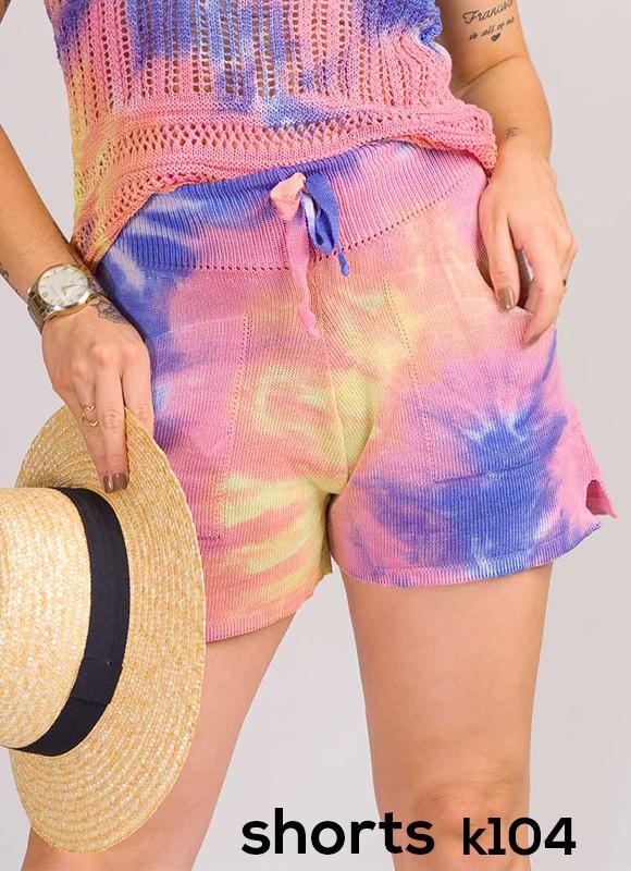 shorts tie day tricot de verão tendencia moda blogueira