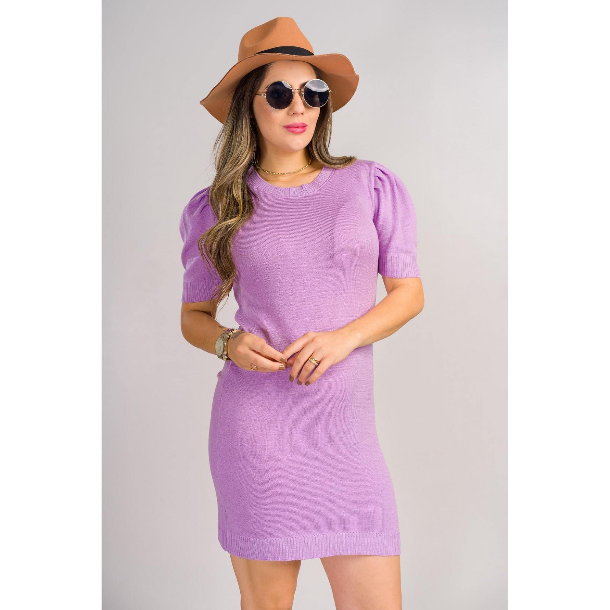 vestido estilo modal tricot de verão lançamento