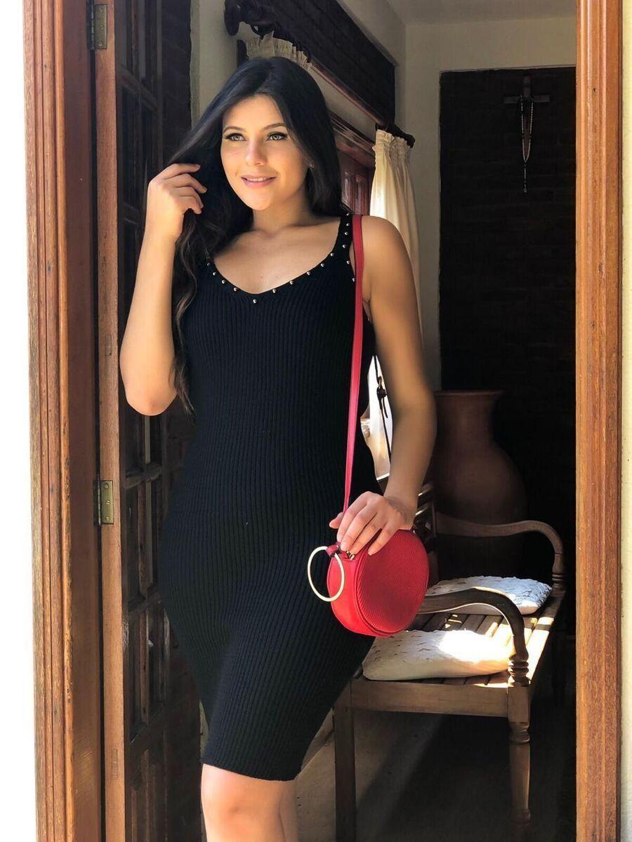 Vestido moda blogueira linha fria modal de verão atacado k561
