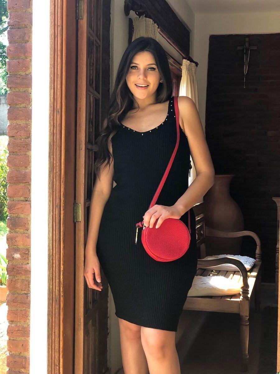 Vestido moda blogueira linha fria modal de verão atacado