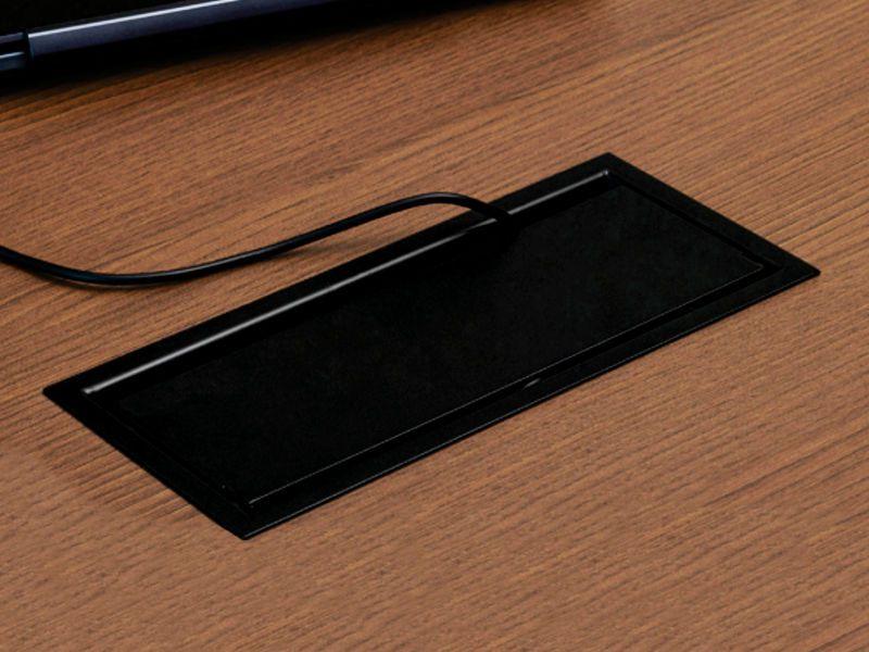 CAIXA DE MESA OPENBOX ALUM 8BL CINZA S/ BLOCOS (QM-17109.01/QM-17114.01)