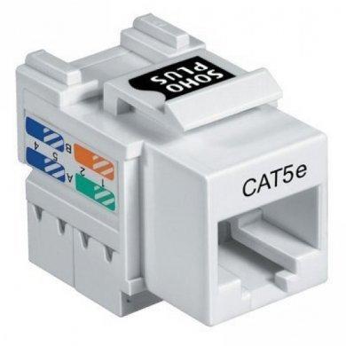 Conector RJ45 Femea Cat5e Sohoplus