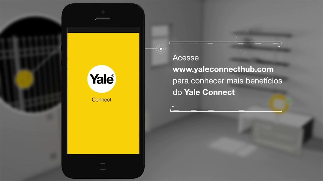 FECHADURA YALE BIOMETRICA YDF 40 RL + Yale Connect Wifi