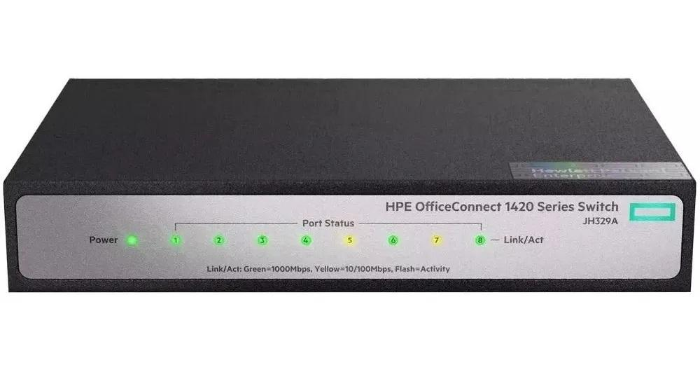 SWITCH 8P 10/100/1000 JH329A HPN