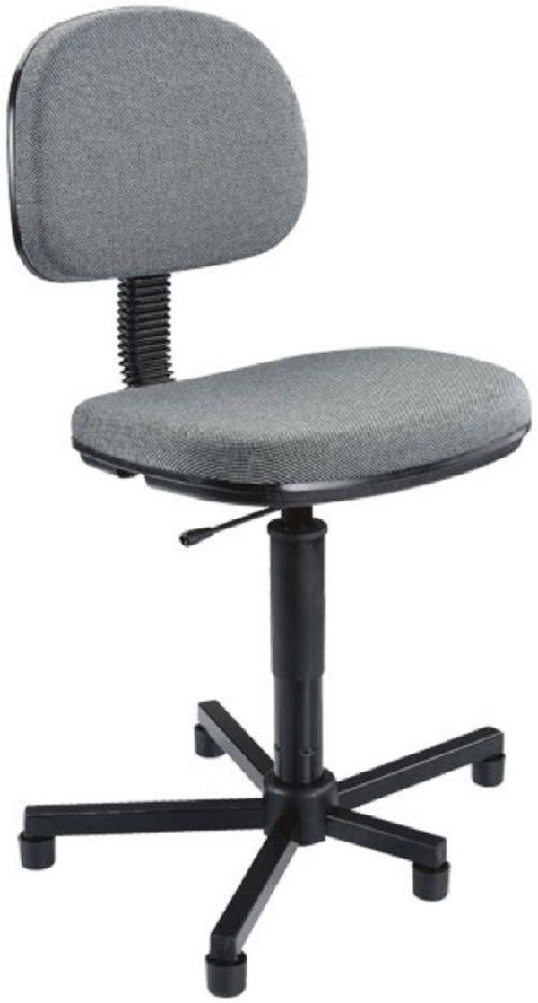 Cadeira Costureira Nr17  Cinza Acompanha certificado