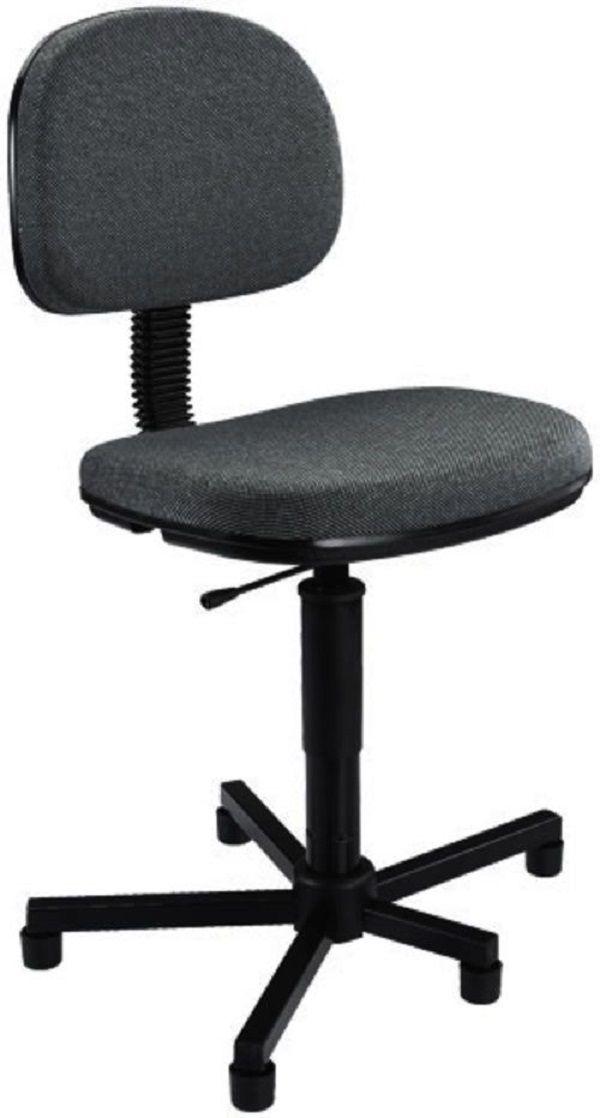 Cadeira para Costureira Nr17 Ergonomica Preta