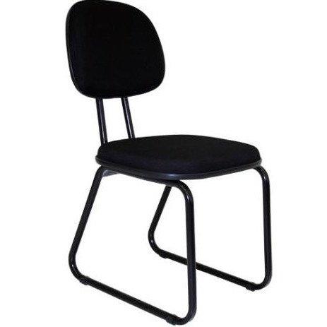 Cadeira Secretaria Fixa Trapézio - L Duplo