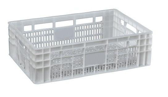 Caixa Plástica agrícola vazada - cp 17 - ta-tf - Pacote com 5 unidades