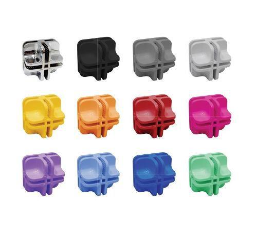 Conectivos para Balcões Aramados e Vidros Colorido pacote com 20 unidades