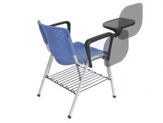 Cadeira Universitária Prisma com Prancheta Polipropileno Escamoteável