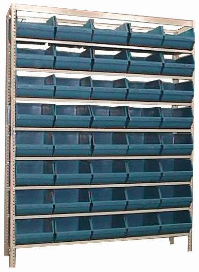 Estante caixa box organizadora para gavetas bin nº 8 com 40 Gavetas