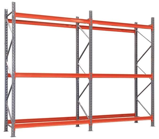 Longarina para Mini Porta Pallet 1800 mm - 500 kg - conjunto com 2 unidades