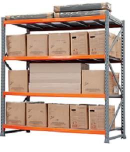 Longarina para Porta Pallet 2300 mm - 1000 kg - conjunto com 2 unidades