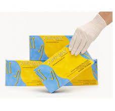 Luva de Procedimento Não Cirúrgico Latex - Caixa com 100 Unid - Supermax