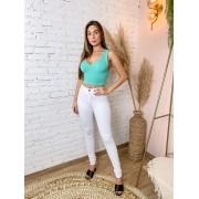 Calça Carmen Skinny Branca 139