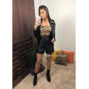 CROPPED ANIMAL PRINT SEM BOJO