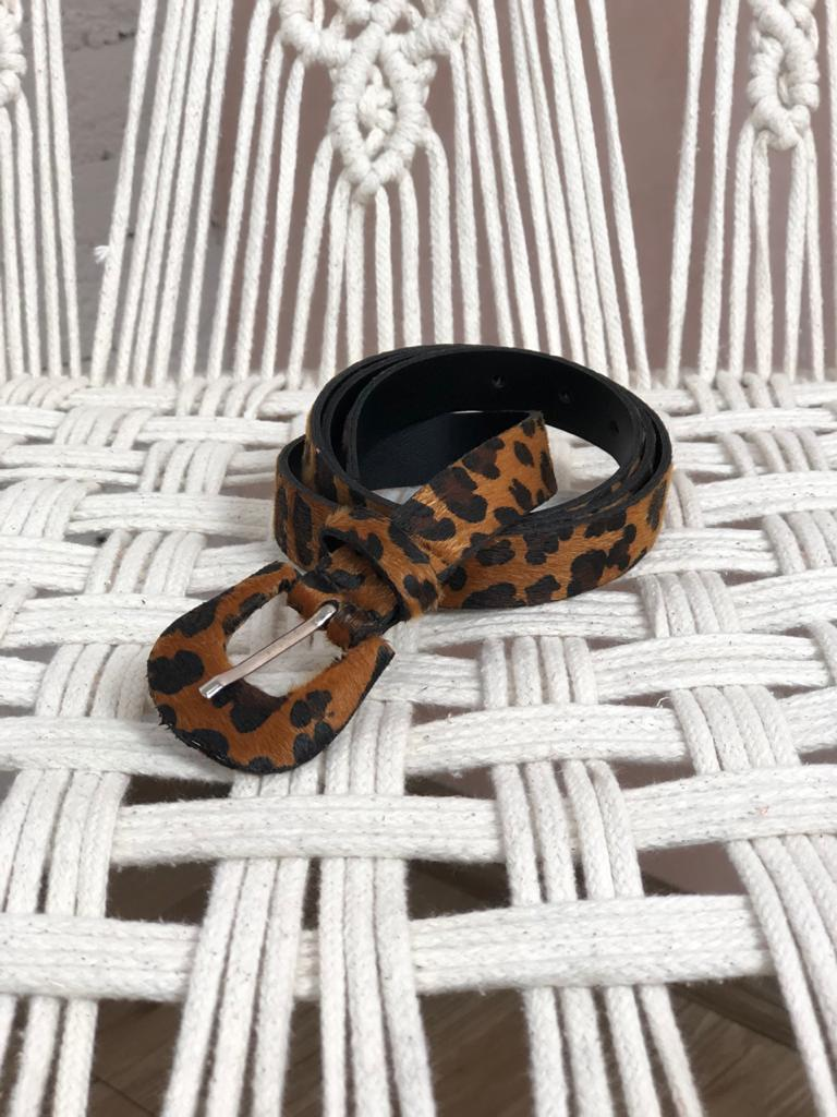 CINTO FINO  ANIMAL PRINT