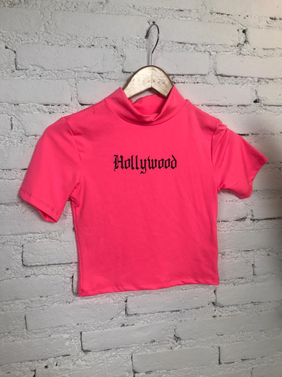 CROPPED DE POLIAMIDA HOLLYWOOD