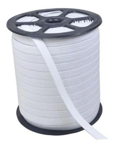 Elástico P Mascaras Branco - 5mm Rolo 200m Pronta Entrega!