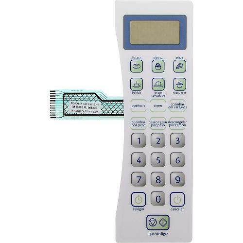 Membrana adesivo painel Teclado Microondas Consul Cms18b