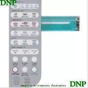 Membrana Painel Teclado Microondas Electrolux Mef33 - Oferta !!
