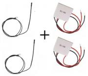 2 Sensor Ntc Bebedouro Purificador Master Frio + 2 Pastilhas