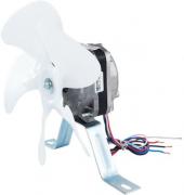 5 Micro Motor Ventilador 1/25 Bivolt Elco Com Hélice E Suporte